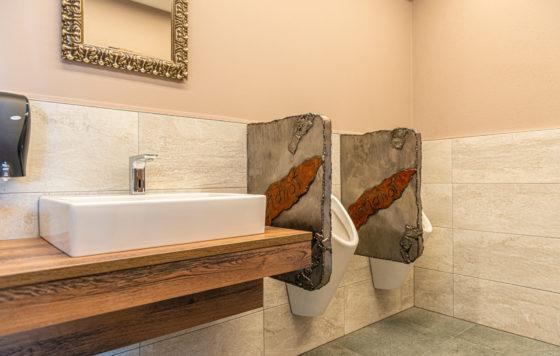Herren WC mit Design